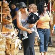 Christina Aguilera con el amor de su vida, su hijo Max.