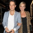 Kate Moss junto a Jamie Hince.