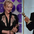 Meryl Streep Y George Clooney triunfaron en los Globos de Oro al llevarse amobos el premio a mejor interpretaci&#xF3;n dram&#xE1;tica