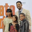 Will Smith, junto a su familia