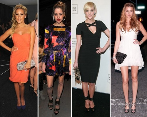 Ashley Tisdale, Rosie Huntington-Whiteley, Ashley Simpson - Las mejor vestidas en la Fashion Week NY