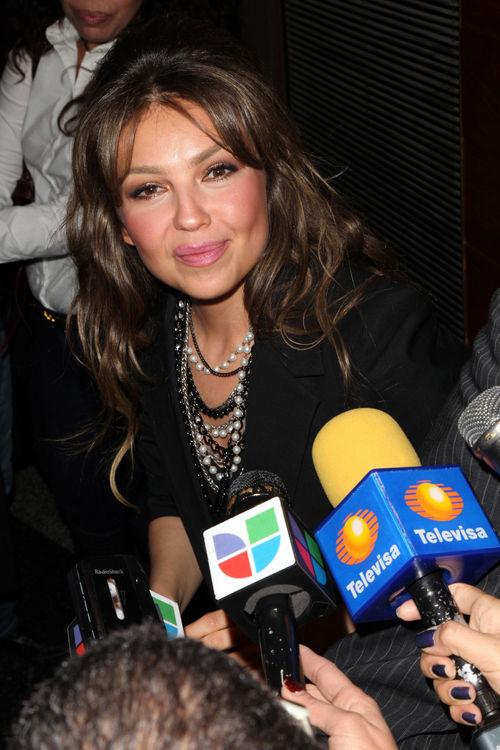 Thalía, Tommy Mottola - Thalia se encuentra muy feliz con su segundo hijo Matthew Alejandro